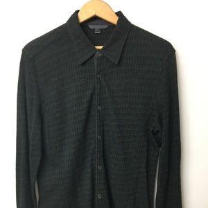 John Varvatos Wool Blend Mens Casual Shirt - M